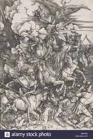 four horsemen of the apocalypse by albrecht durer 1497 98