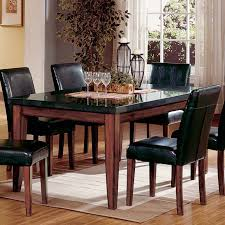 Black Granite Dining Table Used Home Furniture Tables Dining Room - Black dining table with wood top