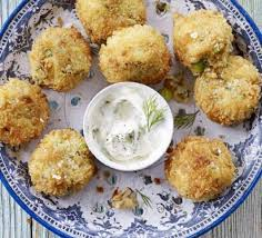 crab canapes crab cakes with dill mayonnaise recipe food