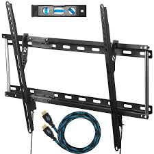 How High Should I Hang A Picture by Amazon Com Cheetah Aptmm2b Tv Wall Mount For 20 75