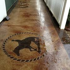 Photos Of Stained Concrete Floors by Getting Started With Stain Concrete Floor U2014 Home Ideas Collection