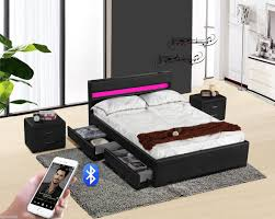 Discount Beds Leather Bed F Home Design Doxvo