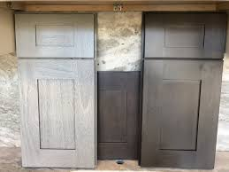 grey stained shaker kitchen cabinets grey stained shaker century marble granite