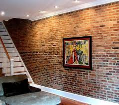 beauteous bricks wall interior design ideas with stone and fancy