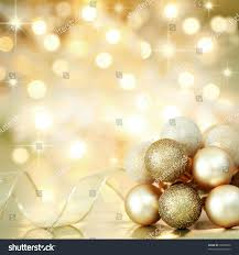 gold baubles ribbon on background stock photo 38690200
