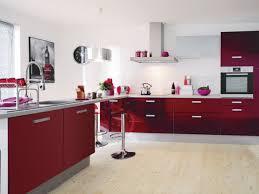 cuisine couleur bordeaux modele cuisine couleur bordeaux idée de modèle de cuisine