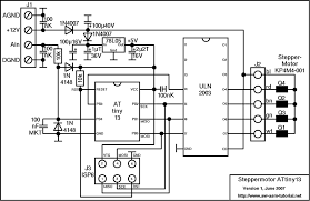 steppermotor controller with attiny13