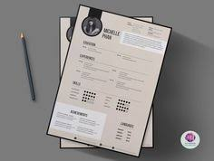 resume template cover letter template reference by chictemplates