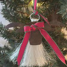 cowboy collectibles hair longhorn ornament