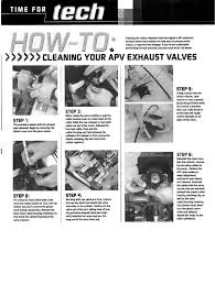cleaning your exhaust valves arcticchat com arctic cat forum