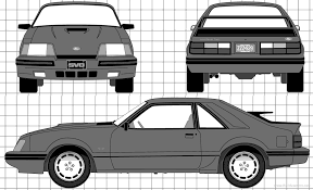 1985 mustang svo the blueprints com blueprints cars ford ford mustang svo