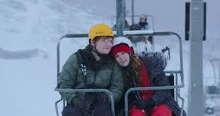 ed sheeran perfect video actress see ed sheeran on romantic ski trip in perfect video rolling stone