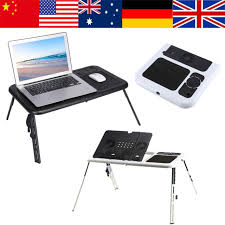 Adjustable Laptop Desks Heat Dissipation Portable Foldable Adjustable Laptop Desk Computer