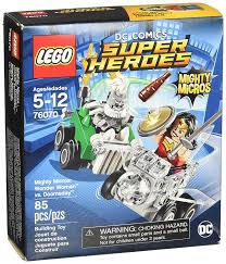 lego super heroes mighty micros woman doomsday 76070