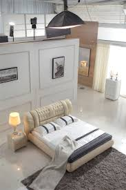 Modern Bed Furniture Compare Prices On Leather Bed Online Shopping Buy Low Price
