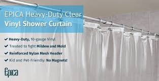How To Choose A Shower Curtain Amazon Com Strongest Mildew Resistant Shower Curtain Liner On The
