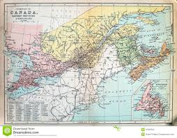 Maps Of Canada by Antique Map Of Canada Stock Images Image 37050504