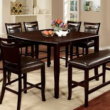 Counter Height Dining Room Table Furniture Of America Rathbun Modern Counter Height Dining Table