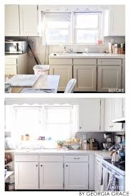 white kitchen cabinets benjamin kitchen new painted cabinets walls by grace