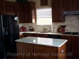 granite countertops marble soapstone tile cabinets backsplashes new venetian gold with torreon backsplash