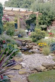 Backyard Rock Garden by Backyard Landscaping Ideas With Stones Rock Garden That Will Put
