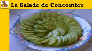 comment cuisiner un concombre la salade de concombre rapide facile inratable