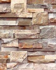 muriva large slate wallpaper natural j274 08 j27408 stone brick