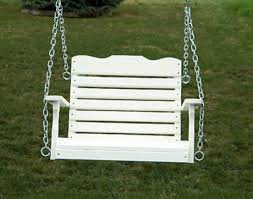 small polywood porch swing how to make polywood porch swing