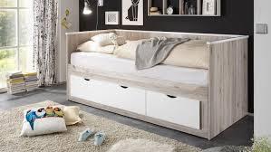 Schlafzimmer Bett Sandeiche Oscar Tandemliege Bett In Sandeiche Weiß 90x200