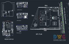 hotel floor plan dwg 5 star hotel cad project dwgdownload com