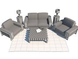 Michael Amini Furniture Used Set Of Furniture Aico Michael Amini 3d Model Cgtrader