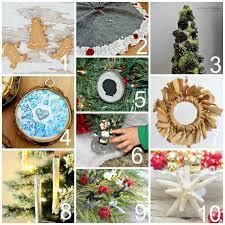 one minute ribbon stuffed diy ornaments trim the tree