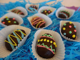 peanut butter eggs for easter peanut butter easter eggs recipe nichalicious baking