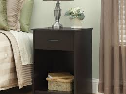 Small Nightstand Table Table Lamps Home Decor Bedroom Cool Black Shade Table Lamps