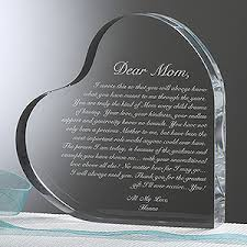 personalized keepsake gift for mothers letter to