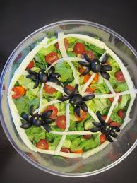 spider salad for halloween my completed diy projects pinterest