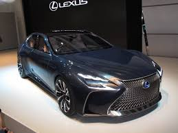 lexus luxury van lexus fuel cell car likely to be based on new ls luxury sedan