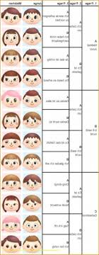 girl hairstyles animal crossing new leaf appealing hair guide animal crossing new leaf pics for city folk