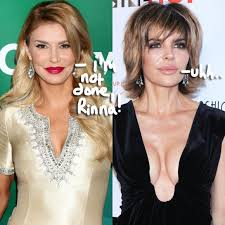 brandi house wives of beverly hills short hair cut brandi glanville calls lisa rinna out for her eating disorder