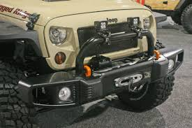 american flag jeep grill sema 2014 rugged ridge has new goodies for your jeep off road