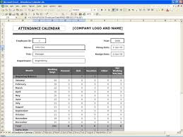 Free Spreadsheets For Mac Employee Attendance Planner And Tracker Free Excel Templates