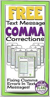 28 best grammar commas images on pinterest teaching writing