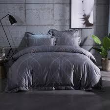 Grey Bedding Sets King 2017 New Europe Luxury Bedding Sets King Size 100