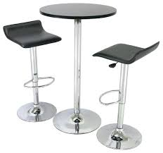 Modern Bistro Table Pub Table Two Stools Bar Height Table Two Chairs Large Size Of
