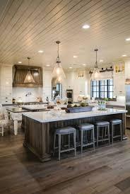 farmhouse kitchen island ideas the 25 best farmhouse kitchens ideas on