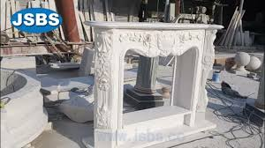 modern white stone large fireplace surround buy modern white