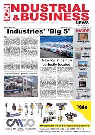 kzn industrial u0026 business news issue 86 by the media u0026 events