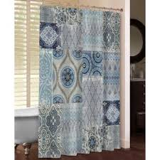patchwork shower curtains you u0027ll love wayfair