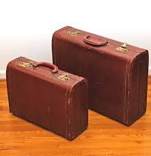 Suitcases Vintage Gb Stylite Suitcases Ebth