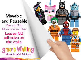 lego characters wall stickers totally movable and reusable ebay lego wall stickers ad 3 jpg